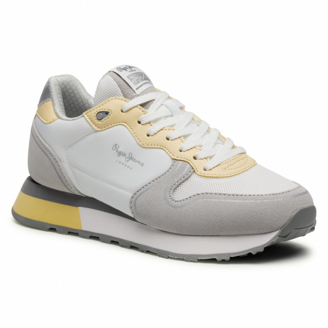 Sneakersy PEPE JEANS - Dover Bass PLS31162 Pearl Grey 901