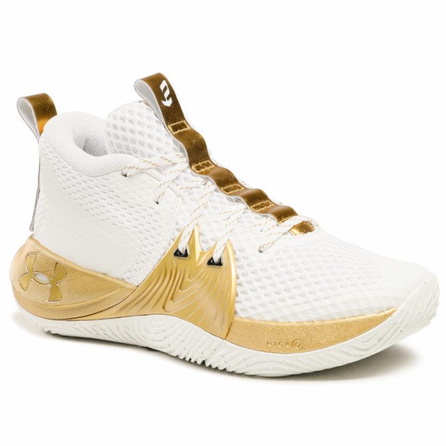 Topánky UNDER ARMOUR - Ua Embiid 1 3023086-105 Wht