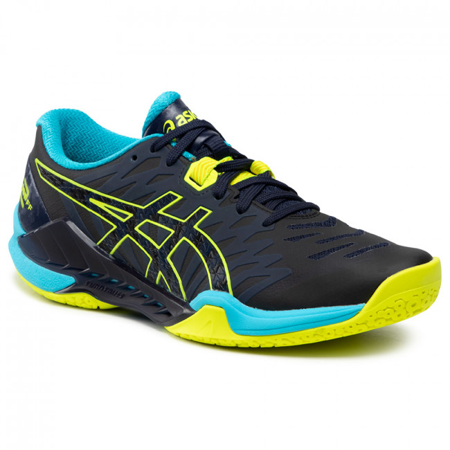 Topánky ASICS - Blast Ff 2 1071A044 Peacoat/Safety Yellow 400