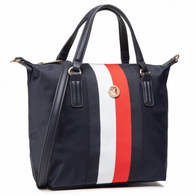 Kabelka TOMMY HILFIGER - Poppy Small Tote Corp AW0AW10025 DW5