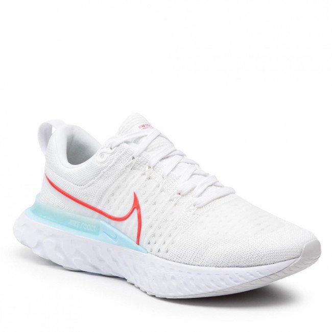 Topánky NIKE - React Infinity Run Fk 2 CT2357 102 White/Chile Red/Glacier Ice
