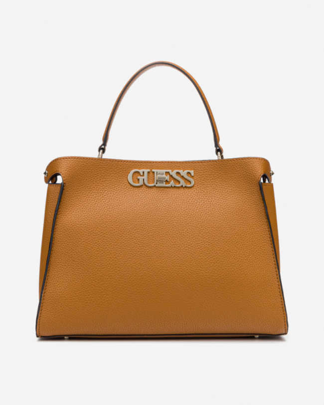 Guess hnedé kabelka Uptown Chic Large