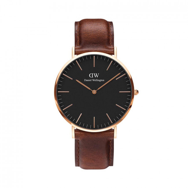 Hodinky DANIEL WELLINGTON - Classic St Mawes DW00100124  Brown/Gold