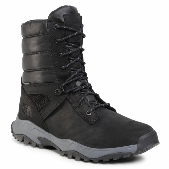 Snehule THE NORTH FACE - Thermoball Boot Zip-Up NF0A4OAIKZ21 Tnf Black/Zinc Grey