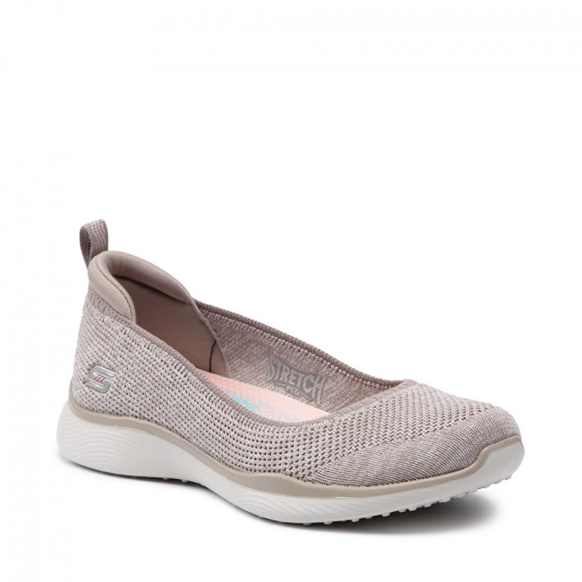 Poltopánky SKECHERS - Be Iconic 104134/TPE Taupe