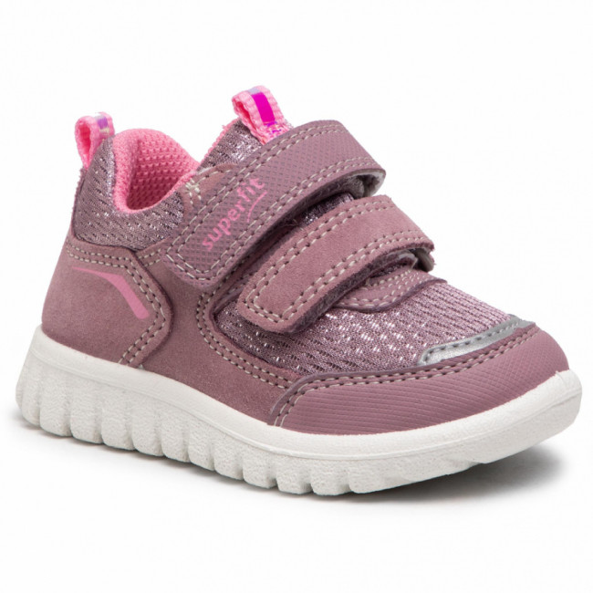 Sneakersy SUPERFIT - 1-006194-8500 M Lila/Rosa