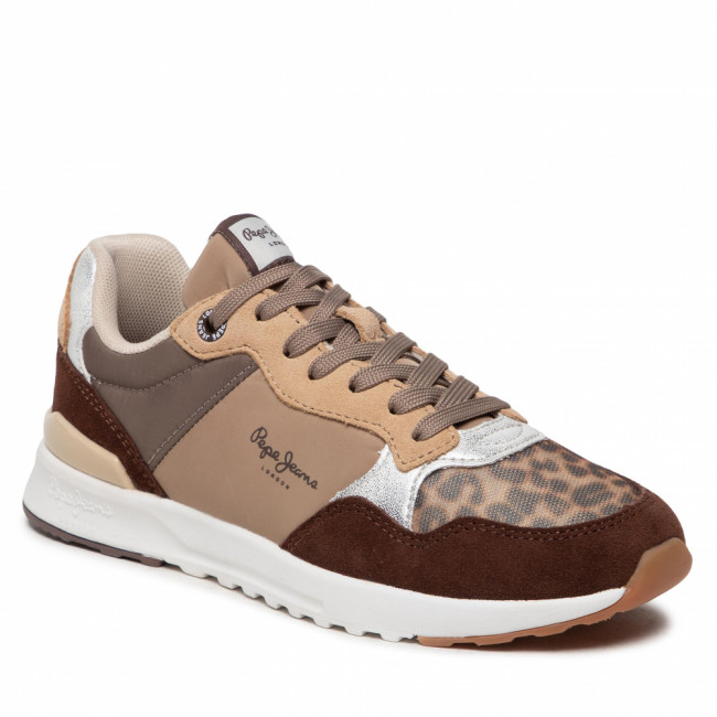 Sneakersy PEPE JEANS - Verona Pro Touch PLS31271  Biscuit 850