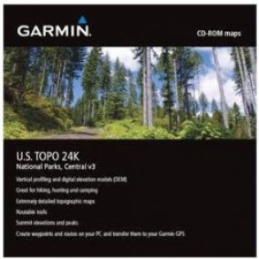 Garmin TOPO USA 24K National Parks, Central