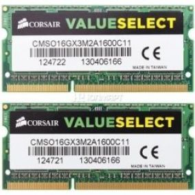Corsair SODIMM DDR3 16GB KIT 1600MHz CL11