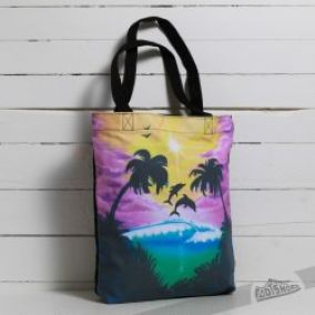 Vans Been There Done Dolphin Beach Bag US 13l