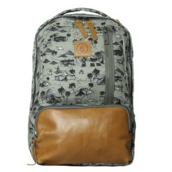 Volcom Batoh Basis Canvas Backpack 20L Slate