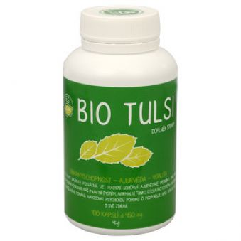 Empower Supplements ES Bio Tulsi 100 kapslí AKCE +