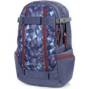 batoh Eastpak Getter Triangles Blue 22.5 L