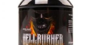 Peak Performance Hellburner 120 tabliet