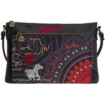 Desigual Crossbody kabelka Toulouse Red Balls