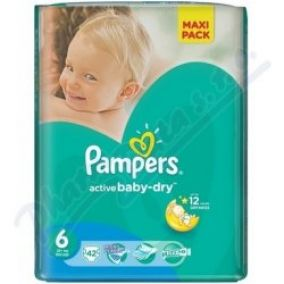 PAMPERS Active Baby VPP 6 Extra Large 42ks