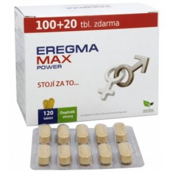 Natural Medicaments Eregma MAX power 100 tbl. + 20