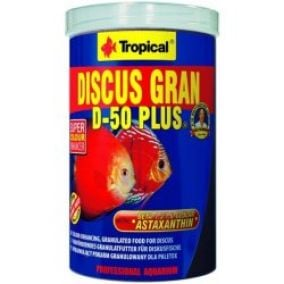 Tropical Discus Gran D-50 Plus 1000 ml