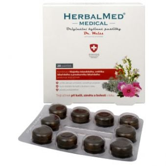 Simply You Herbalmed MEDICAL pastilky Dr. Weiss 20