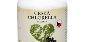 Natural Medicaments Česká chlorella so selénom 300
