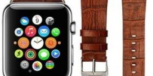 Jisoncase kožený remienok Apple Watch 42mm