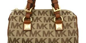 Michael Kors Elegantná kabelka Grayson Light Brown