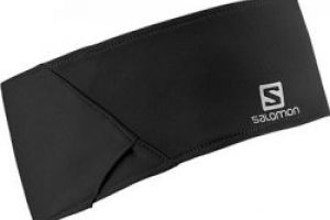 Salomon čelenka Training Headband Black