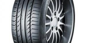 Continental SportContact 5 225/50 R17 98Y
