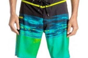 Quiksilver Hold Down Vee 19 YHJ6/Safety Yellow