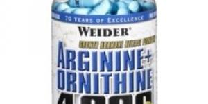 Weider ARGININE+ORNITHINE 4000 180 tabliet