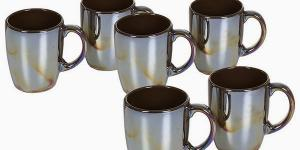 Set of jugs China crockery Gaštanová 6 pcs -