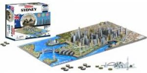 4D Cityscape puzzle Time Panorama Sydney