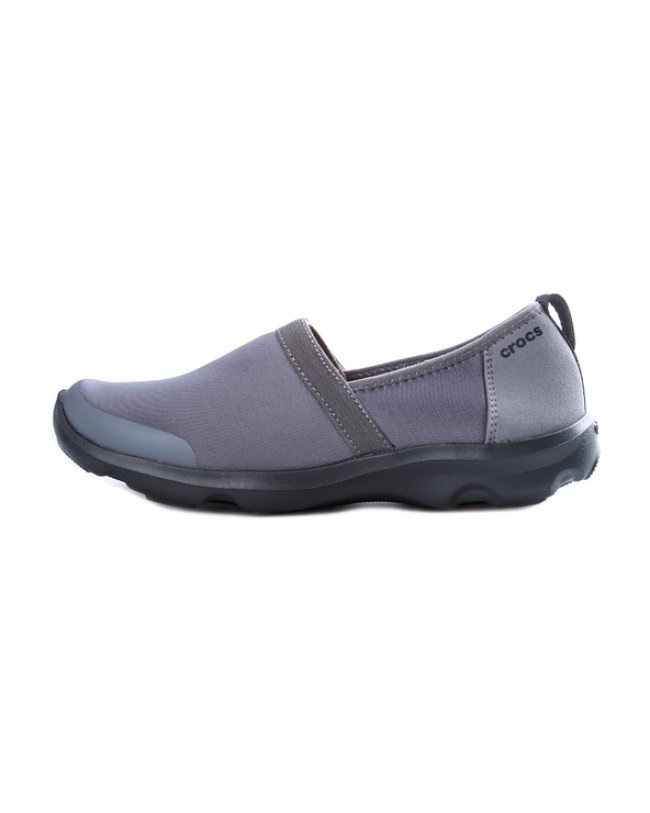 Crocs Duet Busy Day 2.0 Satya A-line Slip On Šedá