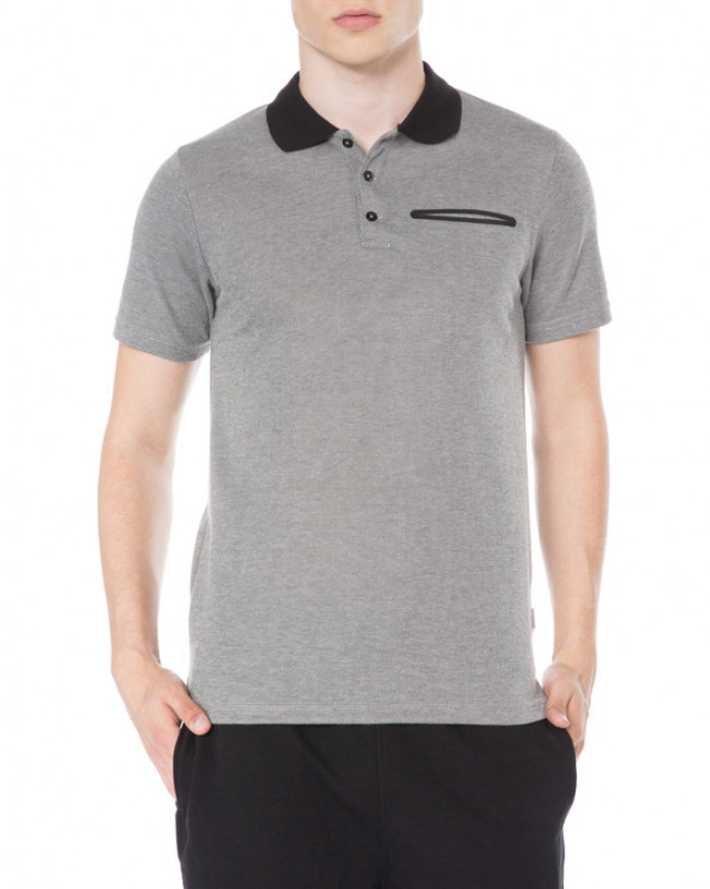 Jack & Jones Chris Polo tričko Šedá