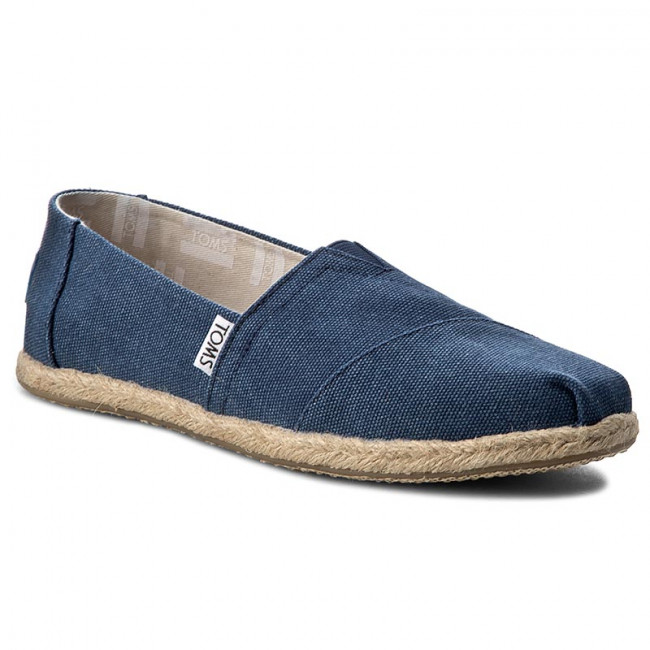 Espadrilky TOMS - Classic 10009758 Navy Washed