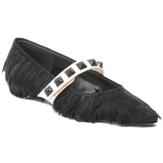 Poltopánky STUART WEITZMAN - Feathery XL17447 Black/Silk/Satin
