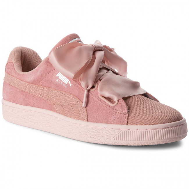 Sneakersy PUMA - Suede Heart Pebble Wn's 365210 01 Peach Beige/Pearl