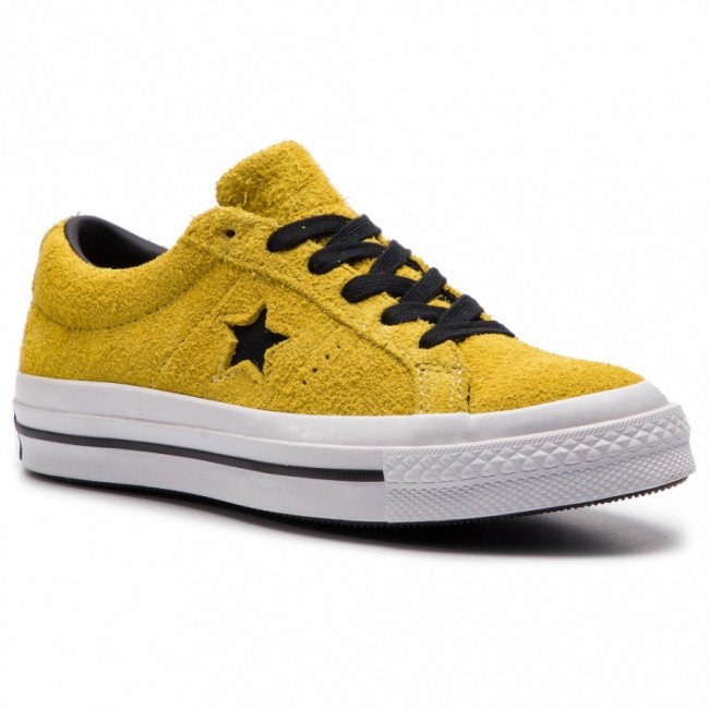 Tenisky CONVERSE - One Star Ox 163245C Bold Citron/Black/White