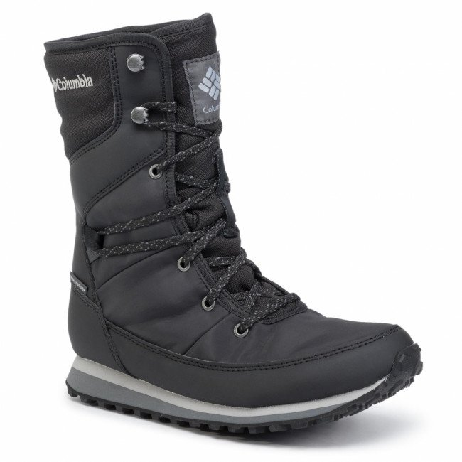 Snehule COLUMBIA - Wheatleigh Mid BL0841 Black/Columbia Grey 010