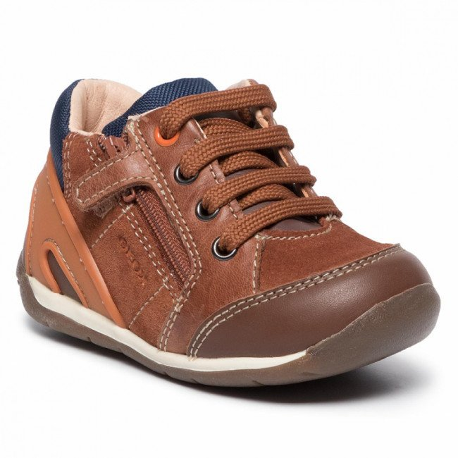 Sneakersy GEOX - B Each B.B B940BB 022CL C6427 Lt Brown/Lt Orange