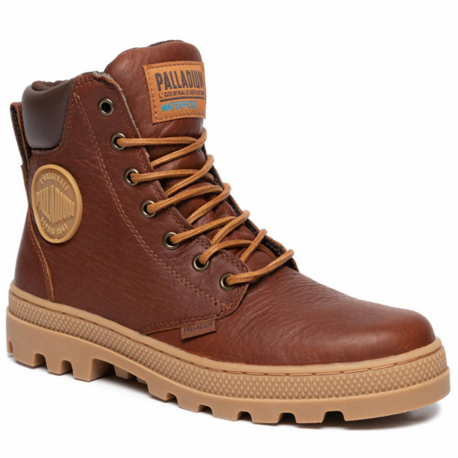 Outdoorová obuv PALLADIUM - Plboss Sc Wp M 05938-233-M Cathay Spice/Ch Brown/Md G