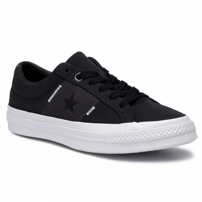 Tenisky CONVERSE - One Star Ox 165059C Black/Almost Black/White