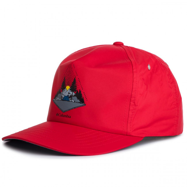 Šiltovka COLUMBIA - Washed Out Ball Cap 1840061 Red 613