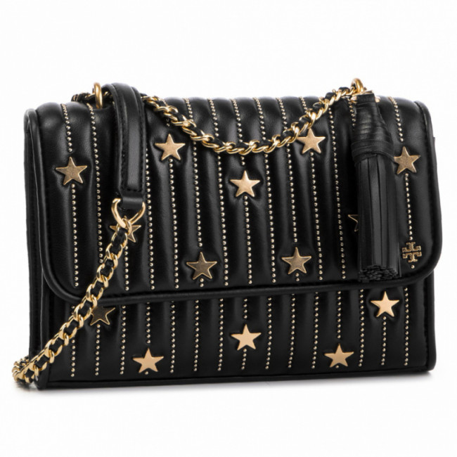 Kabelka TORY BURCH - Star Stud Small Covertible Shoulder Bag 52309 Black 001