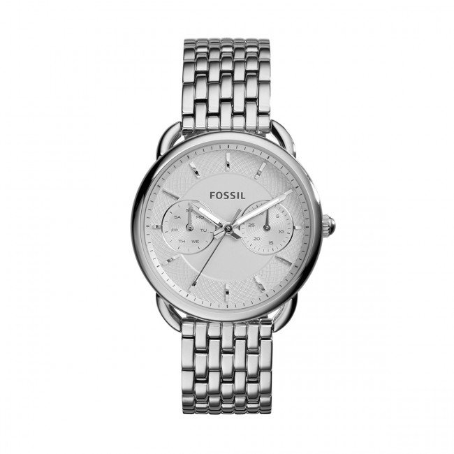 Hodinky FOSSIL - Tailor ES3712  Silver/Silver