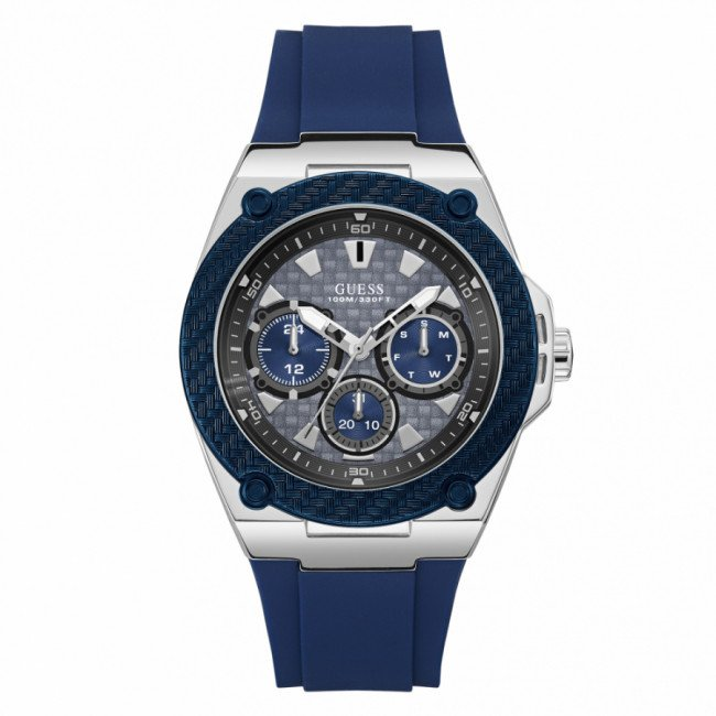 Hodinky GUESS - Legacy W1049G1 NAVY/SILVER/NAVY
