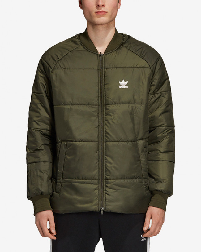 adidas Originals Bunda Zelená