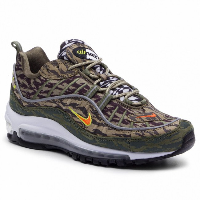 Topánky NIKE - Air Max 98 Aop AQ4130 200 Khaki/Team Orange/Medium Olive