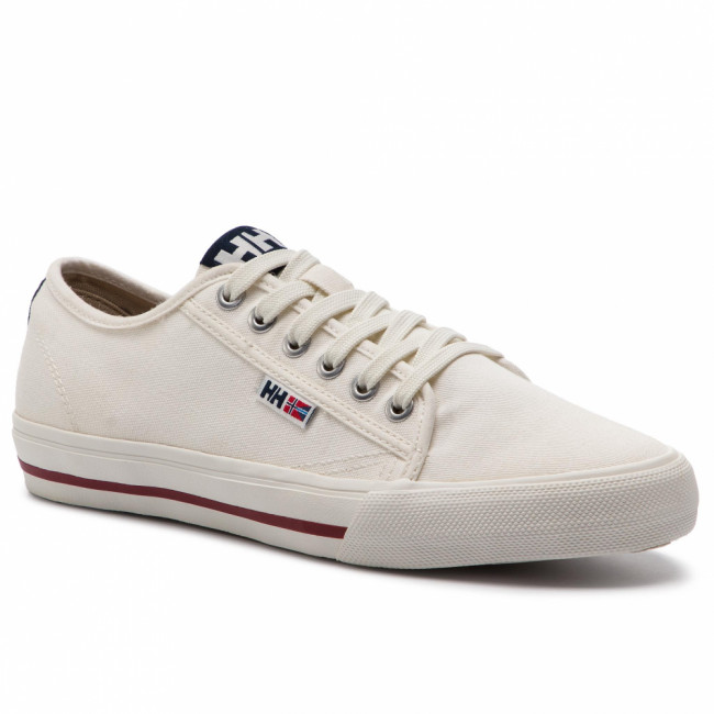 Tenisky HELLY HANSEN - Fjord Canvas Shoe V2 114-65.011 Off White /Navy/Plum