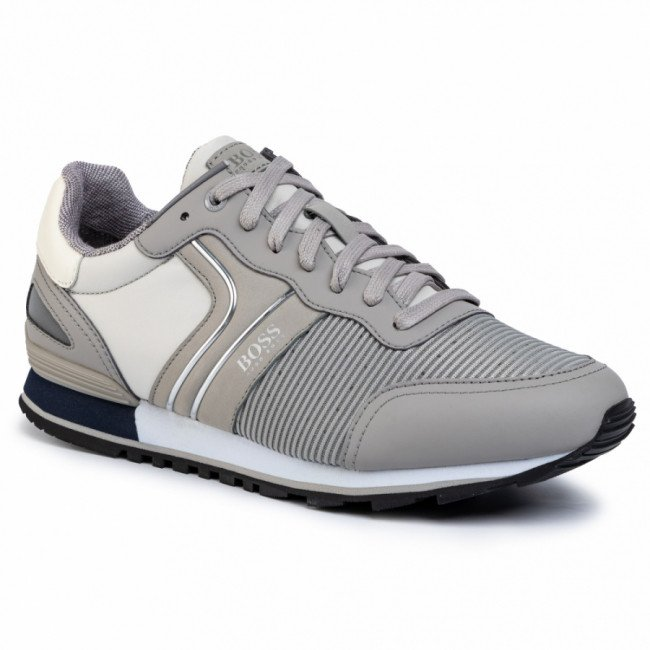 Sneakersy BOSS - Parkour 50422380 10214663 01 Light/Pastel Grey 050